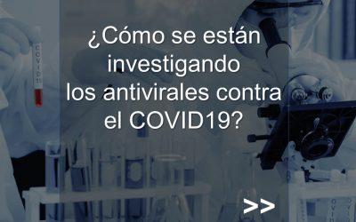 Investigación en antivirales para COVID19